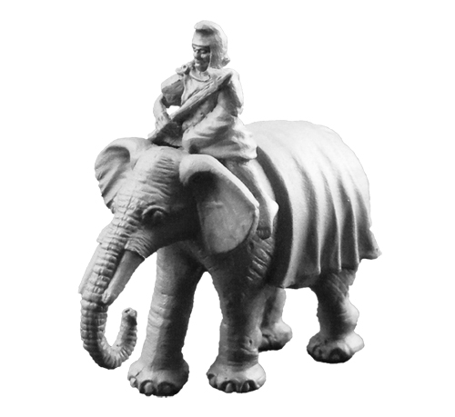ANC20221 - Carthaginian Elephant w/Mahout (B) - Click Image to Close