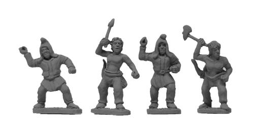 Scythian Infantry : Xyston Minatures